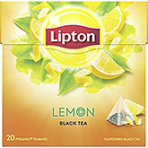 Lipton Lemon sort te 20 poser 34g