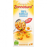Zonnatura 100% camomille 20 sachets 27g