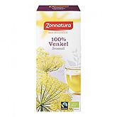 Zonnatura 100% Venkel 20 zakjes 27g