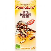 Zonnatura 100% Zoethout 20 zakjes 35g
