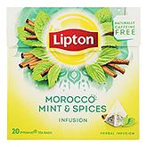 Lipton Marokko Minze und Gewürze Aufguss 20 Beutel 35g