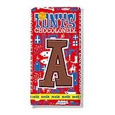 Tony's Chocolonely Lettre en chocolat A au lait 180g