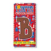 Tony's Chocolonely Lettre en chocolat B au lait 180g