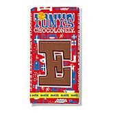 Tony's Chocolonely Lettre en chocolat E au lait 180g