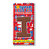 Tony's Chocolonely Lettre en chocolat I au lait 180g