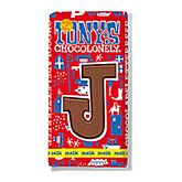 Tony's Chocolonely Lettre en chocolat J au lait 180g