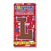 Tony's Chocolonely Lettre en chocolat L au lait 180g