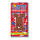 Tony's Chocolonely Lettre en chocolat M au lait 180g