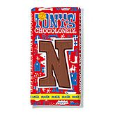Tony's Chocolonely Lettre en chocolat N au lait 180g