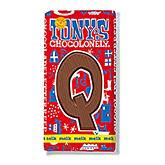 Tony's Chocolonely Lettre en chocolat Q au lait 180g