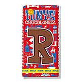Tony's Chocolonely Lettre en chocolat R au lait 180g