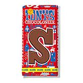 Tony's Chocolonely Lettre en chocolat S au lait 180g