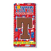 Tony's Chocolonely Lettre en chocolat T au lait 180g