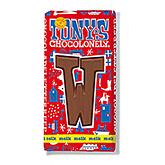 Tony's Chocolonely Lettre en chocolat W au lait 180g