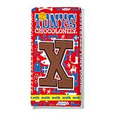 Tony's Chocolonely Lettre en chocolat X au lait 180g