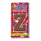 Tony's Chocolonely Lettre en chocolat Z au lait 180g
