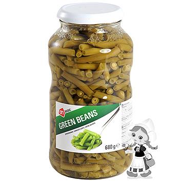 AH BASIC Green beans 680g