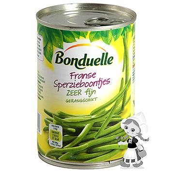 Bonduelle Bonduelle franske grønne bønner meget fine 400 g 400g