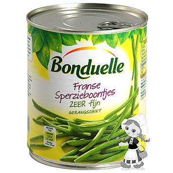 Bonduelle Franse sperzieboontjes zeer fijn 800g