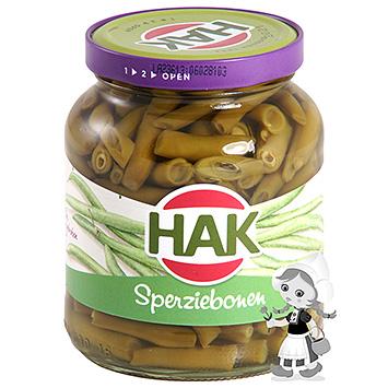 Hak Hak Green Beans fint brudt 340g 340g