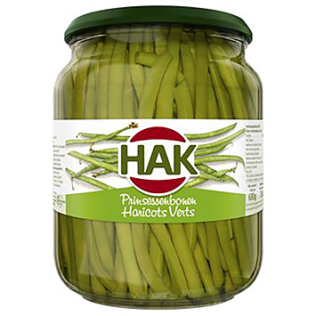 Hak Haricots verts extra fine 680g