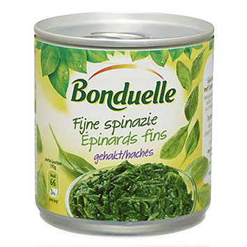 Bonduelle Fijne spinazie gehakt 195g