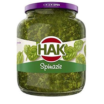 Hak Sliced leaf spinach 630g