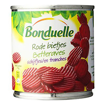 Bonduelle Bonduelle rødbeder i 200 g skiver 200g
