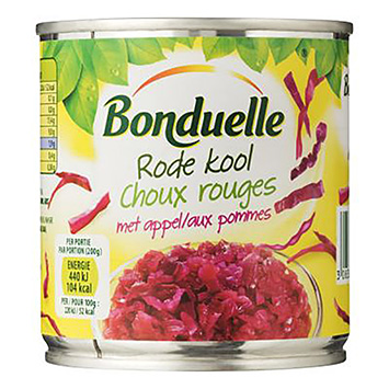 Bonduelle Red cabbage with apple 200g