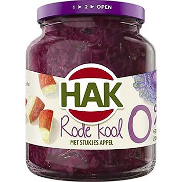 Hak Chou rouge aux pommes 0% 350g