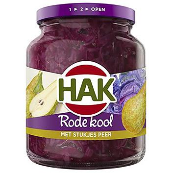 Hak Chou rouge avec des morceaux de pomme 355g