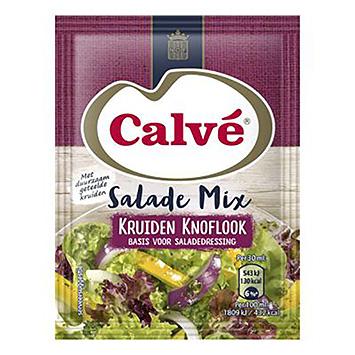 Calvé Salademix kruiden knoflook 24g