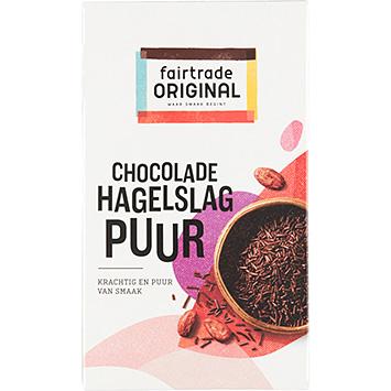 Fair Trade Chocolade Hagelslag Zartbitter 400g