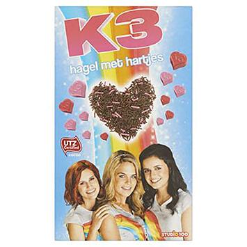 K3 Hagel met hartjes 200g