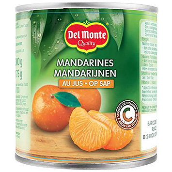 Del monte Mandarins on juice 300g