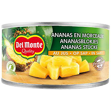 Del monte Pineapple cubes on juice 227g