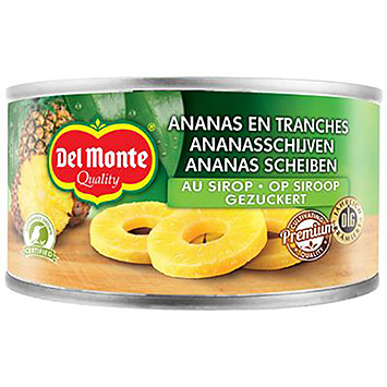 Del monte Tranches d'ananas au sirop 234g