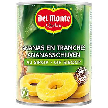 Del Monte Ananasschijven op siroop 567g
