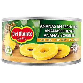 Del monte Gold ananasschijven op sap 227g