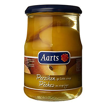 Aarts Peaches in light syrup 560g