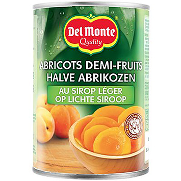 Del monte Half apricots in light syrup 420g