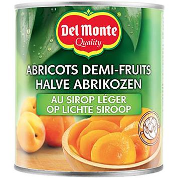 Del monte Halve abrikozen op lichte siroop 825g