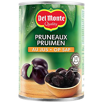 Del monte Plums on juice 410g