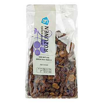 AH Sun dried raisins 250g