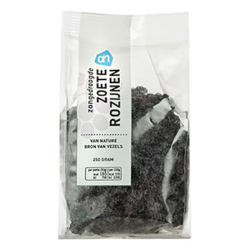 AH Sun dried sweet raisins 250g