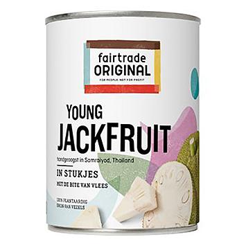Fairtrade original Young jackfruit in stukjes 565g