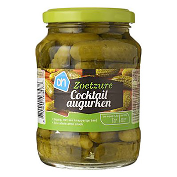 AH Sweet and sour cocktail pickles 330g