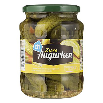 AH Sour pickles 670g