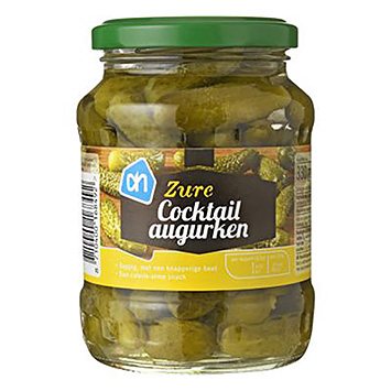 AH Zure cocktail augurken 330g