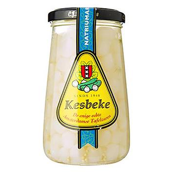 Kesbeke Silver onions low in sodium 370ml